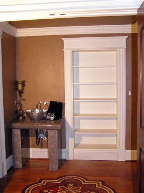 secret door in closet crafted concealed closet storage by dowd temple designs custommade