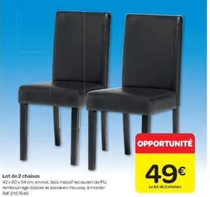 chaise salle carrefour