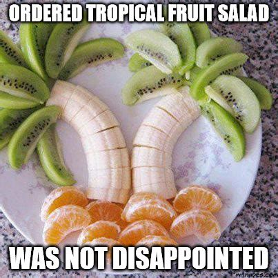 Fruit Memes - sometimes a little artistic flair goes a long way in food