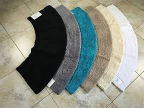 microfibre non slip large curved shower mat