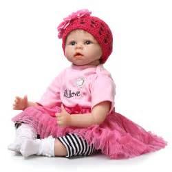 22inch 55cm silicone baby reborn dolls lifelike newborn girl babies