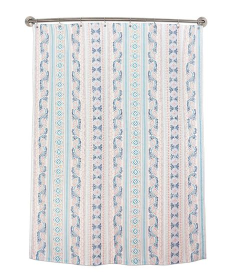 Dillards Shower Curtains by Dena Home Lilly Medallion Striped Shower Curtain Dillards