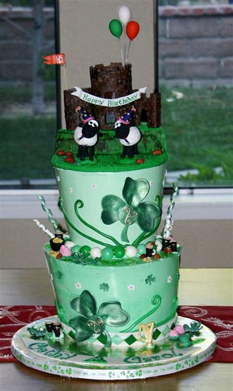 irish cake happy irish birthday cakecentral com