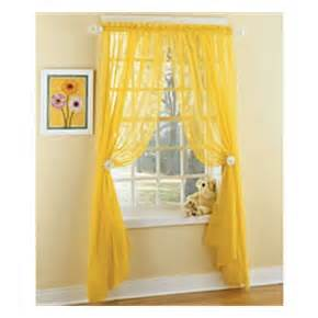 Sheer Yellow Curtains Pin By M Stahl On Bedroom