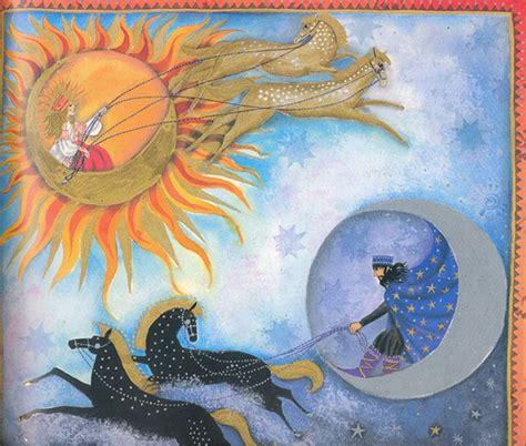 imagenes del sol y la luna cuentos del sol la luna y las estrellas arte