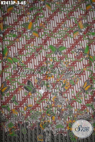Parang Kupu batik motif parang kombinasi kupu proses printing batik