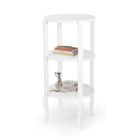 libreria rotonda libreria in legno bianco 3 ripiani rotonda fashion commerce
