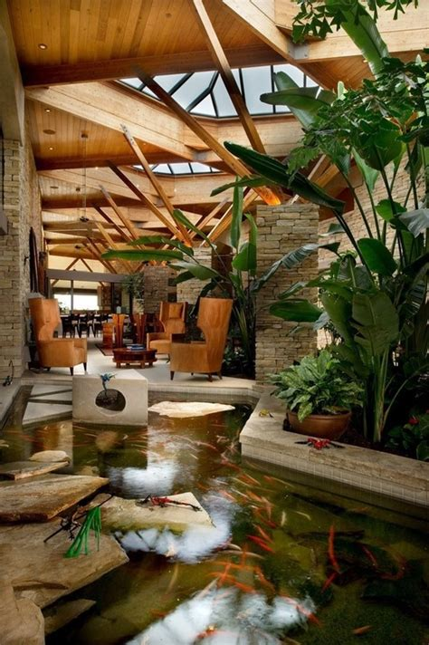 indoor ponds 35 sublime koi pond designs and water garden ideas for