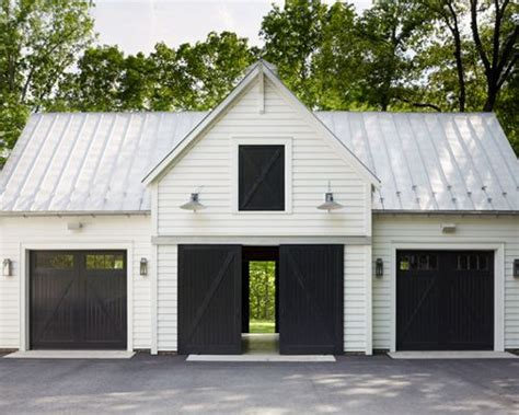 garage shed two car detached dream doors stylish design standard 30 all time favorite detached garage ideas houzz