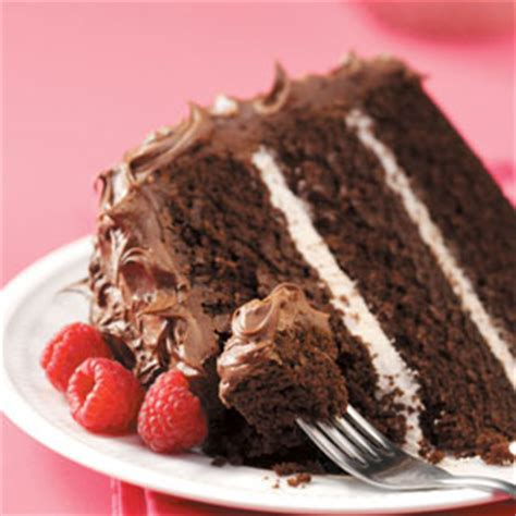 raspberry chocolate cake recipe taste of home