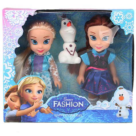 Boneka Elsa Frozen Disney Original 50 Cm disney 15cm frozen princess elsa doll and snow dolls model toys for gift