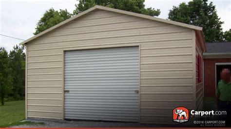 carport shop steel garage metal building 20 x 26 shop steel garages
