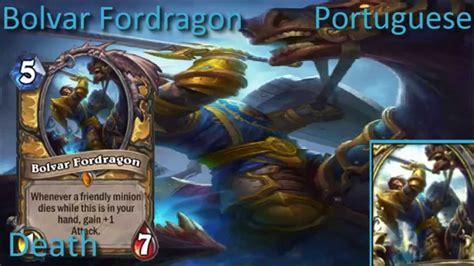 Bolvar Fordragon Meme - bolvar fordragon card sounds in 12 languages hearthstone