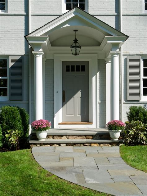 Front Door Stoop Contemporary Front Stoop Design Pictures Remodel Decor And Ideas Page 9 Things To