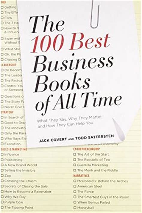 Top Mba Books To Read by The 100 Best Business Books Of All Time What They Say