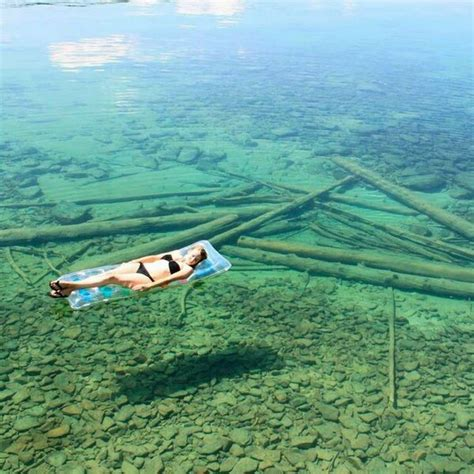 clearest water in the us beautiful clear leigh lake in libby montana bonjourlife