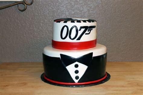 james bond  birthday cake bond party pinterest birthday cakes  ojays  birthdays