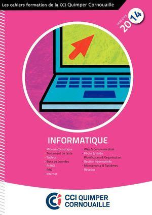 Chambre De Commerce Quimper by Calam 233 O Les Cahiers Formation De La Cci Quimper