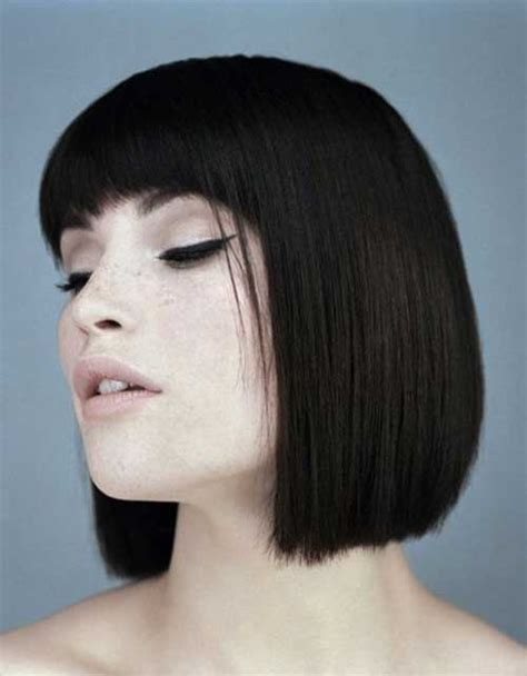 hairstyles for blunt cut hair 20 great short blunt haircuts short hairstyles 2017