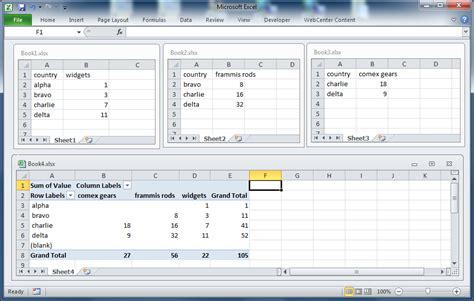 format pivot table excel 2007 pivot table two sheets excel 2007 combine two pivot