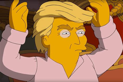 donald trump simpsons the simpsons producer rejected donald trump request to