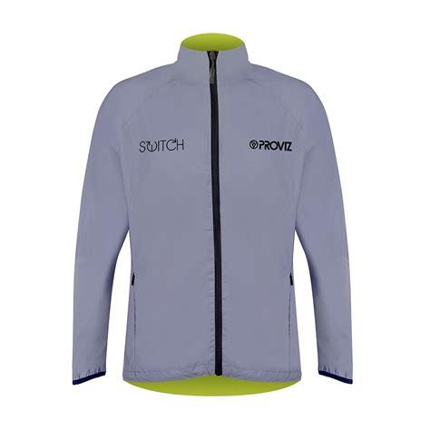 reflective bike jacket men s switch men s cycling jacket yellow reflective reversible