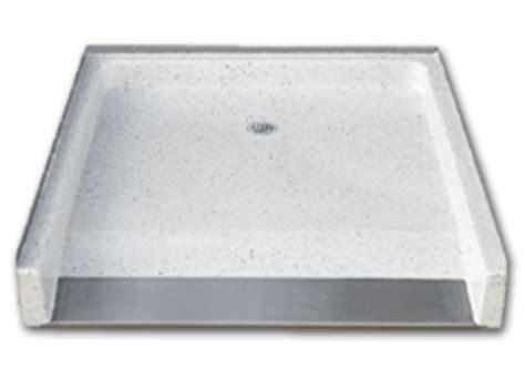 Terrazzo Shower Pan by Florestone Terrazzo Model 500 Barrier Free Shower Receptors