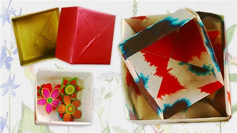 Origami Gifts For Him - origami box diy s day gift ideas for him