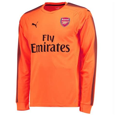 arsenal away shirt arsenal away goalkeeper shirt 2017 18 puma jersey
