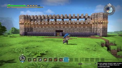 seek for design layout ran online quest dragon quest builders story mode base creation youtube