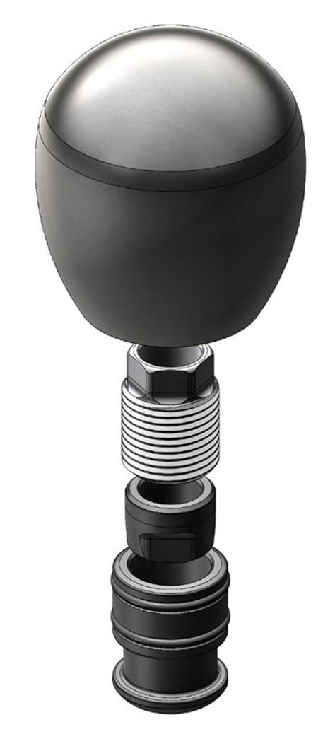 Shift Knob Installation by How To Install A Stainless Steel Delrin Wrapped Shift Knob