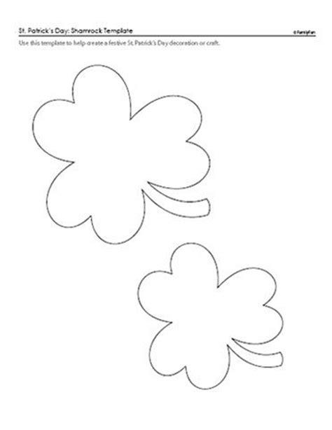 Shamrock Pattern For St Patrick S Day Print Pdf Http Familyfun Go Com St Patricks Day St Pdf St Templates
