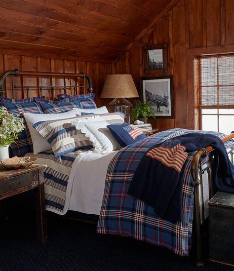ralph lauren plaid bedding ralph lauren saranac peak collection bentwood plaid