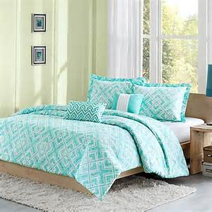 buy laurent reversible twin twin xl comforter set in teal