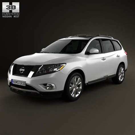 nissan pathfinder 2013 interior nissan pathfinder with hq interior 2013 3d model humster3d