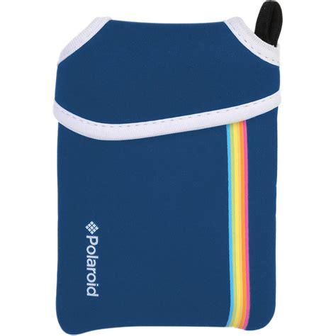 polaroid blue polaroid neoprene pouch for snap instant blue
