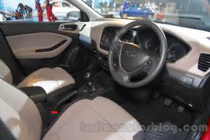 2016 hyundai i20 interior at the auto expo 2016 indian