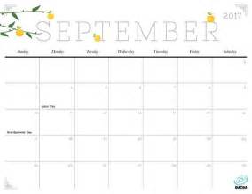 Printable Calendar October 2018 September 2017 Calendar Pretty September Printable Calendars