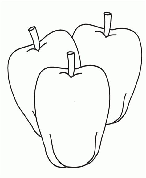 apple coloring page pdf pictures three apples coloring for kids fruit coloring
