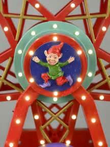 the starburst ferris wheel illuminated animated musical ride the starburst ferris wheel 30cm ornaments the