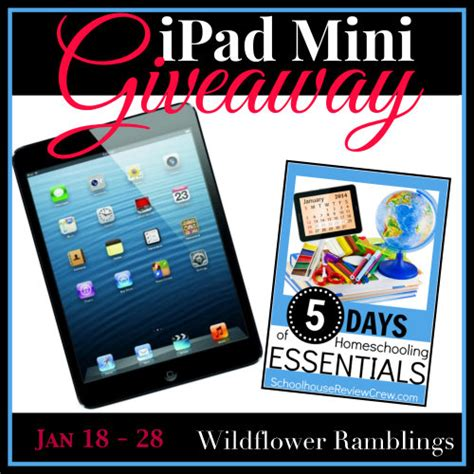 Ipad Mini Giveaway - ipad mini giveaway wildflower ramblings