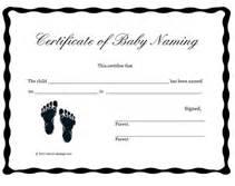 naming certificates free templates free printable baby naming certificates blank templates