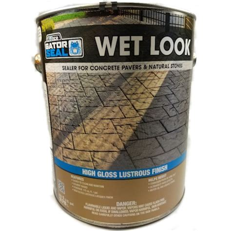 Where To Buy Wet Seal Gift Cards - alliance gator seal wet look sealer for pavers natural stones 1 gal can ebay