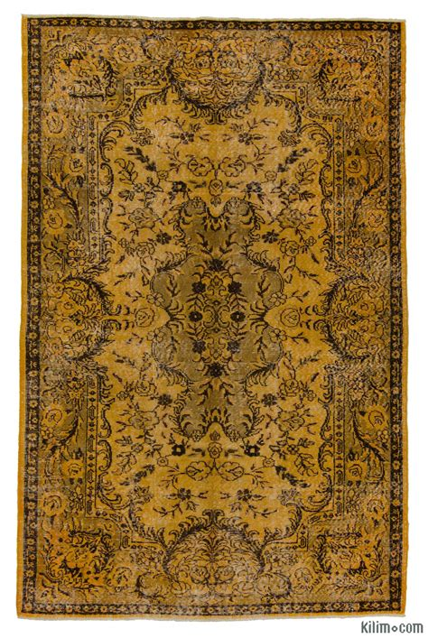 overdyed rugs k0006173 dyed turkish vintage rug overdyed vintage rugs and patchwork carpets from the