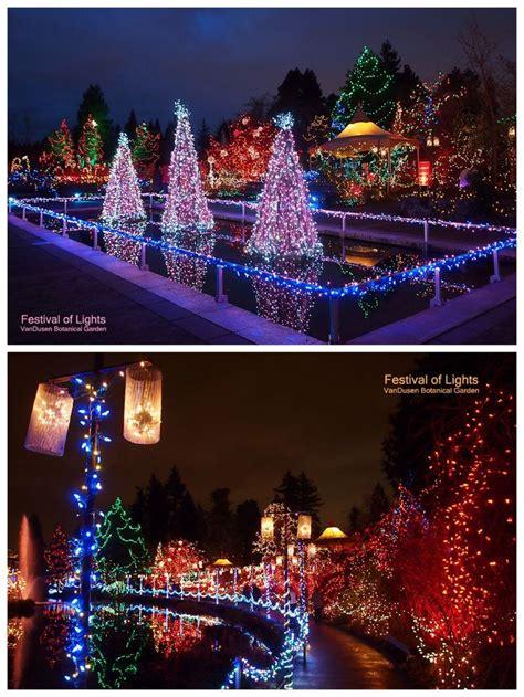 festival of lights at vandusen botanical garden vancouver