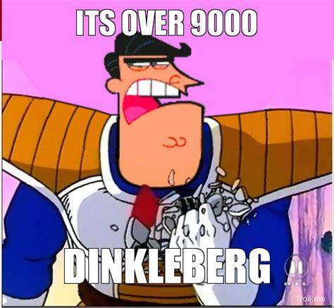 Over 9000 Meme - it s over 9000 dinkleberg by trolltrollingtroll on
