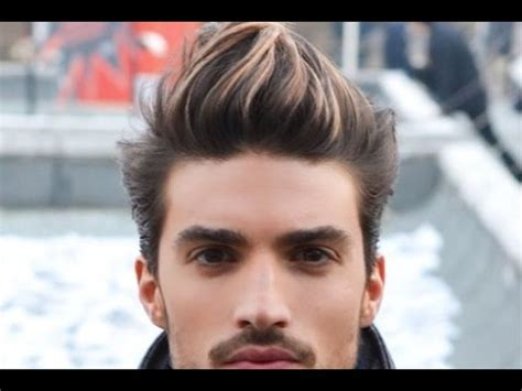 mens hairstyles dyed blonde mens brown hair dyed blonde youtube