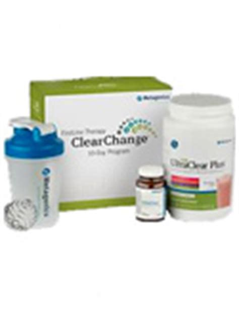 Clear Change Detox Questionaire by Metagenics Clear Change 10 Day Program With Ultraclear Plus