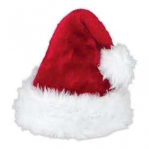 plush santa hat ebay