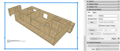 update layout c layout not update a new section from sketchup layout